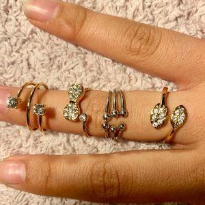 Bundle of 4 Rings